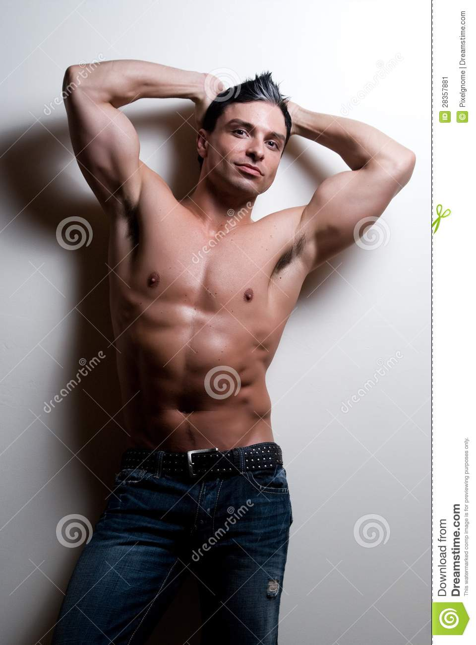 Young Male Fitness Models