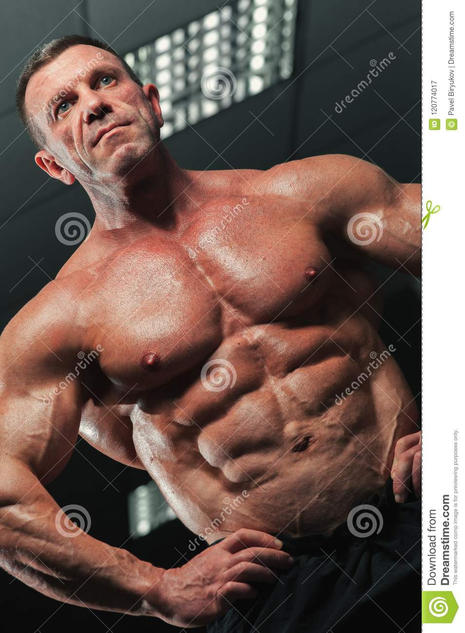Shall simply mature bodybuilder men message