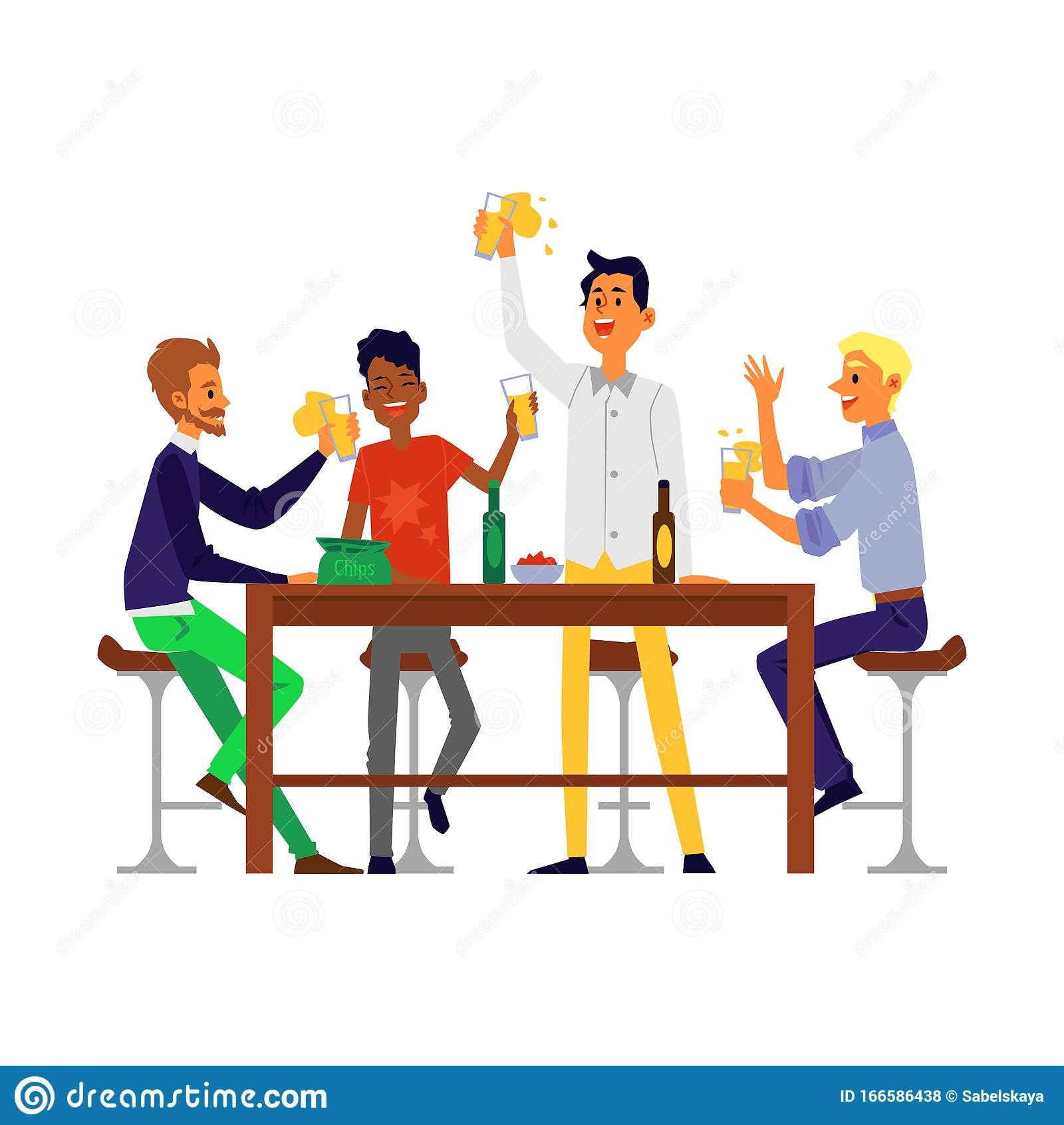 Cartoon Men Drinking Beer Stock Illustrations – 342 Cartoon Men Drinking  Beer Stock Illustrations, Vectors & Clipart - Dreamstime