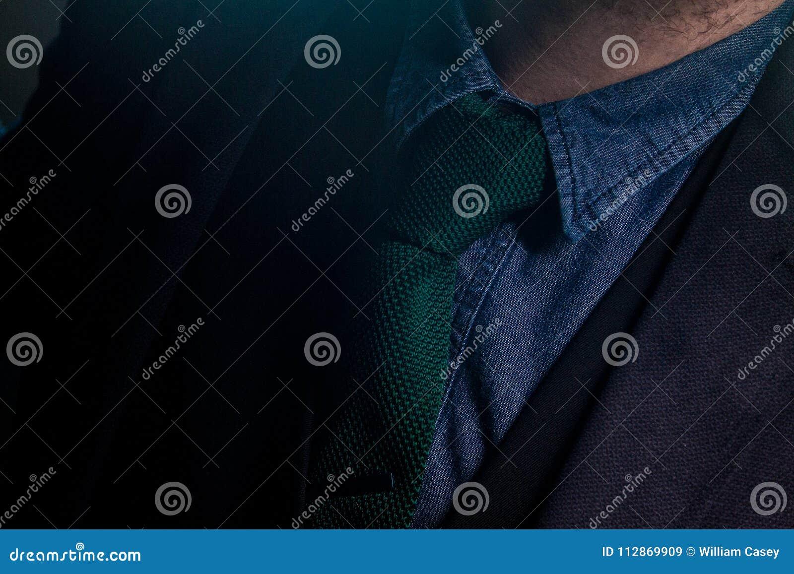 Tie navy color blazer Men's Suit