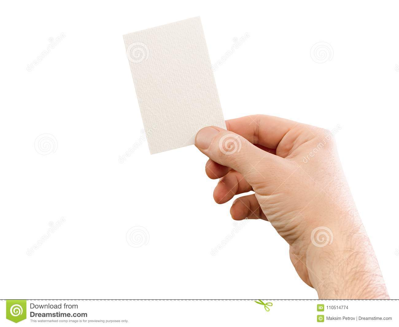 Male hand holding business card mockup on white stock photo image download comp colourmoves