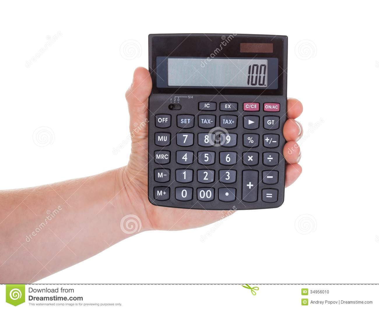 holding calculator