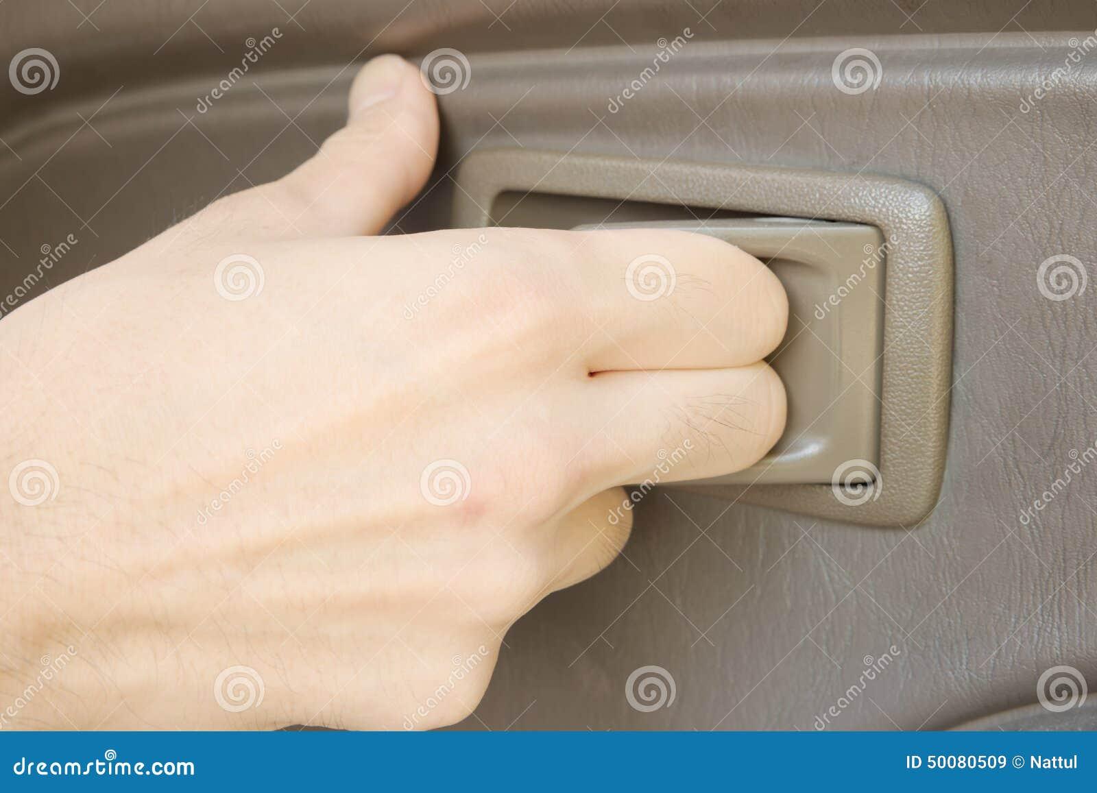 Car door handle hand Renault Male Hand Pulling Plastic Handle To Open Car Door Dreamstimecom Male Hand Pulling Plastic Handle To Open Car Door Stock Image