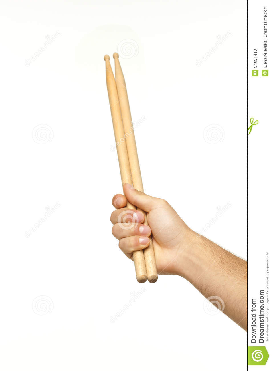 Hand Holding Stick ~ Hand holding drumsticks stock photography cartoondealer
