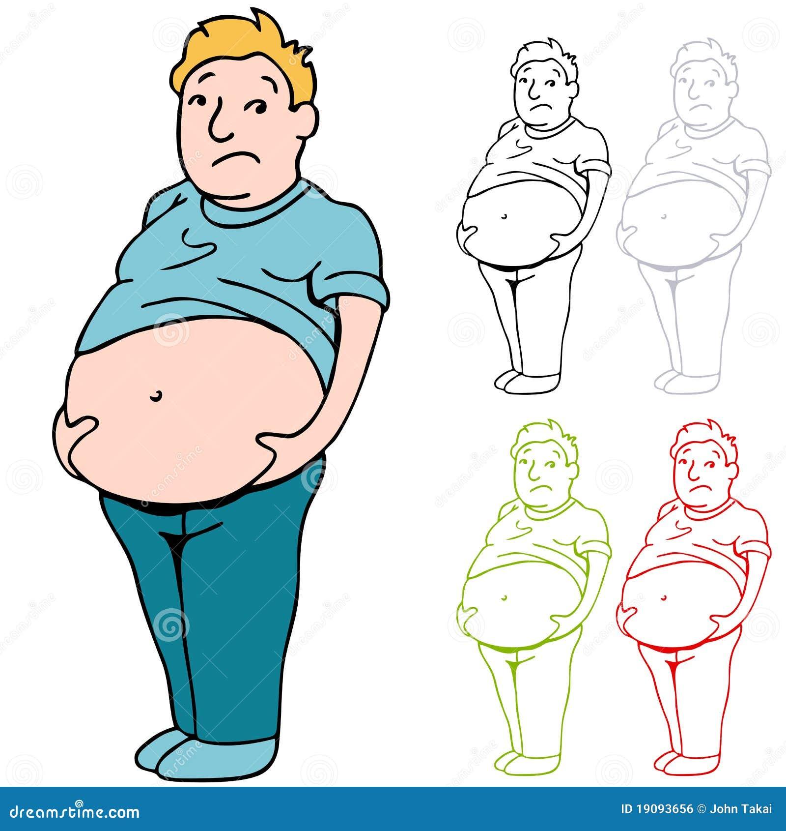 Male Heavy Belly