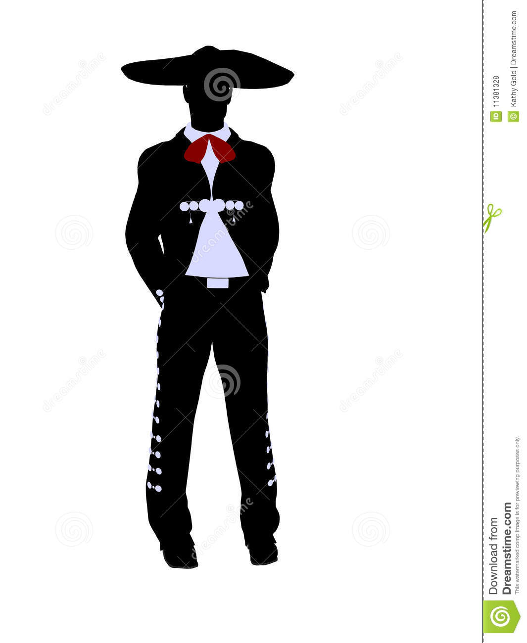 Gallery For > Folklorico Clipart Silhouette