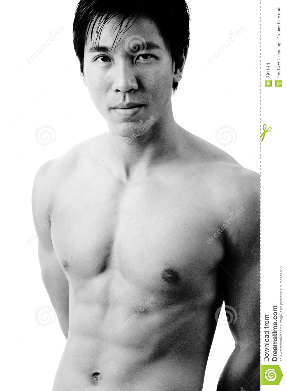 Male Model B&W stock photo  Image of person, training, tall