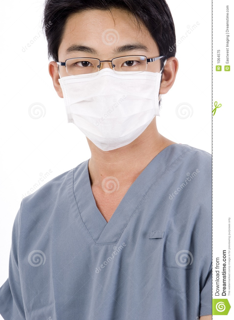 Asian Male Nurse