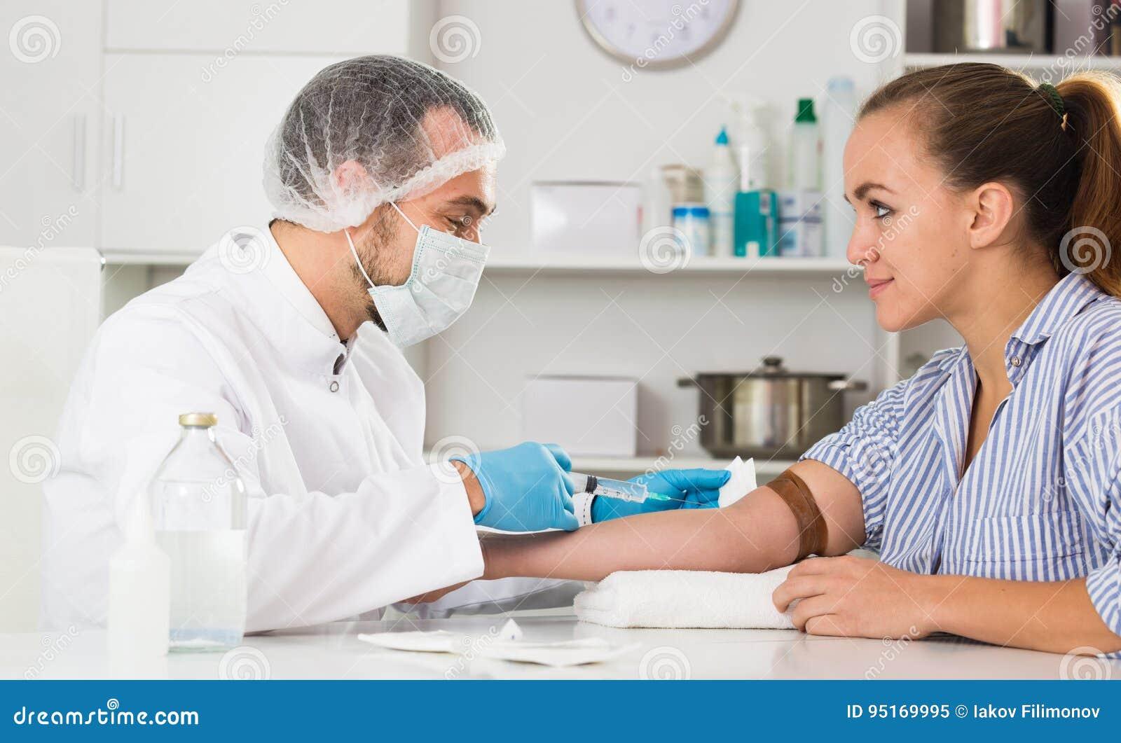 Women Injecting Men