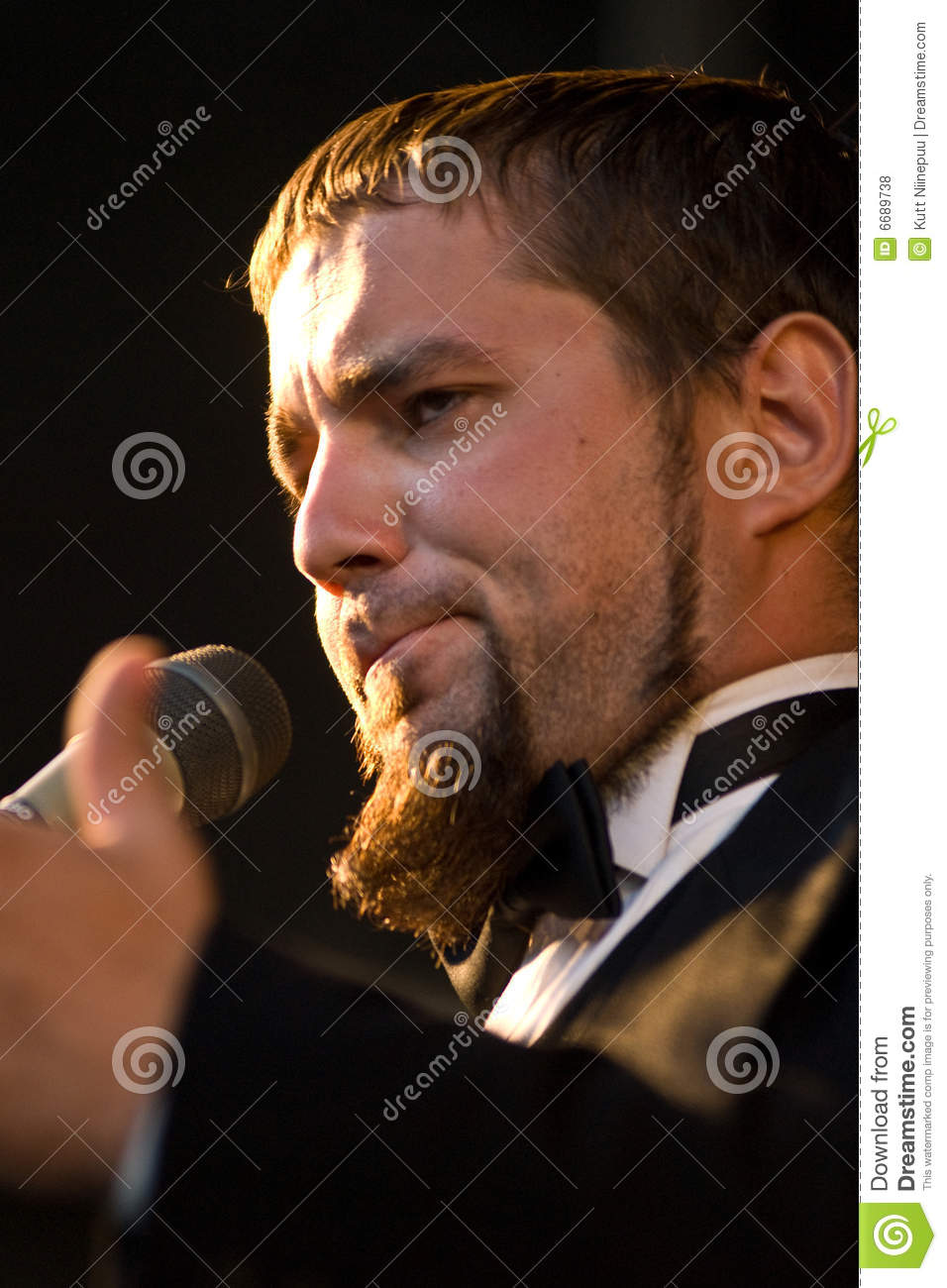 Male Opera Singer Royalty Free Stock Photos - Image: 6689738