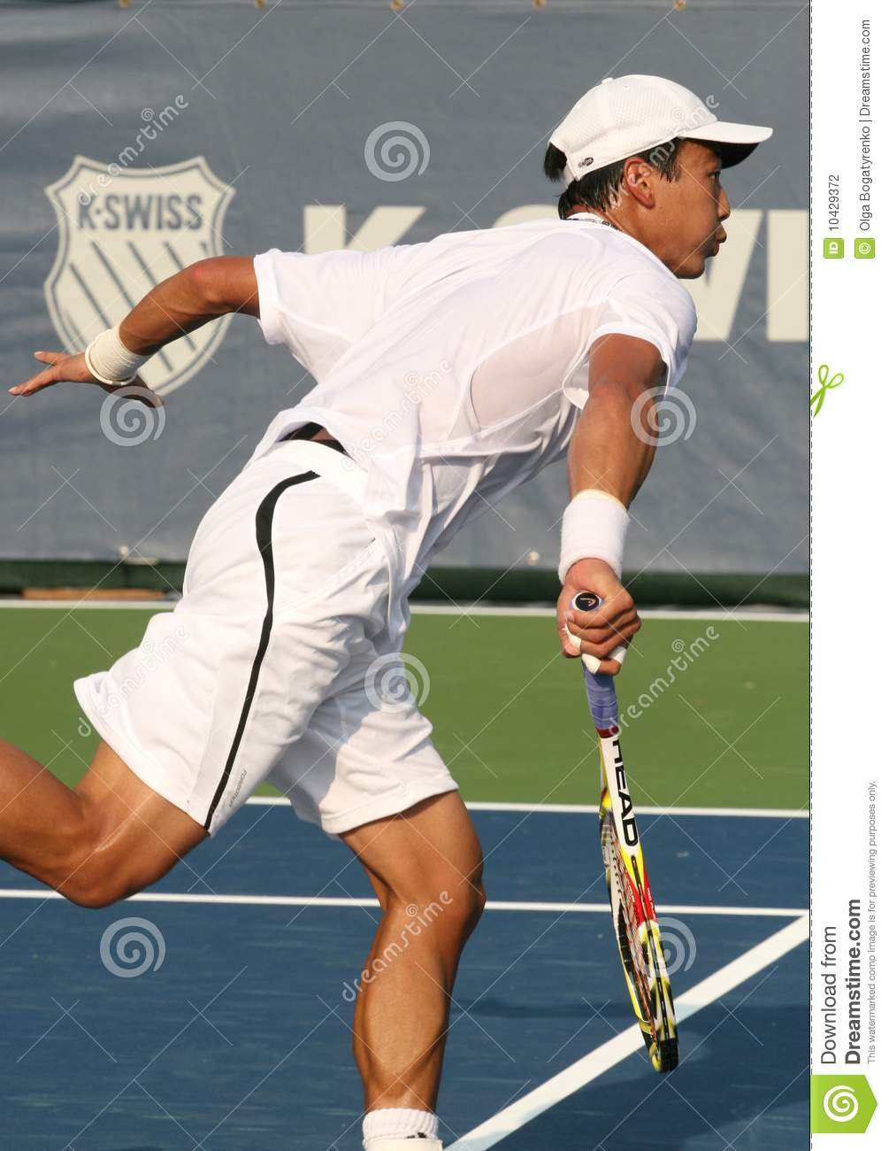 Professional tennis photography
