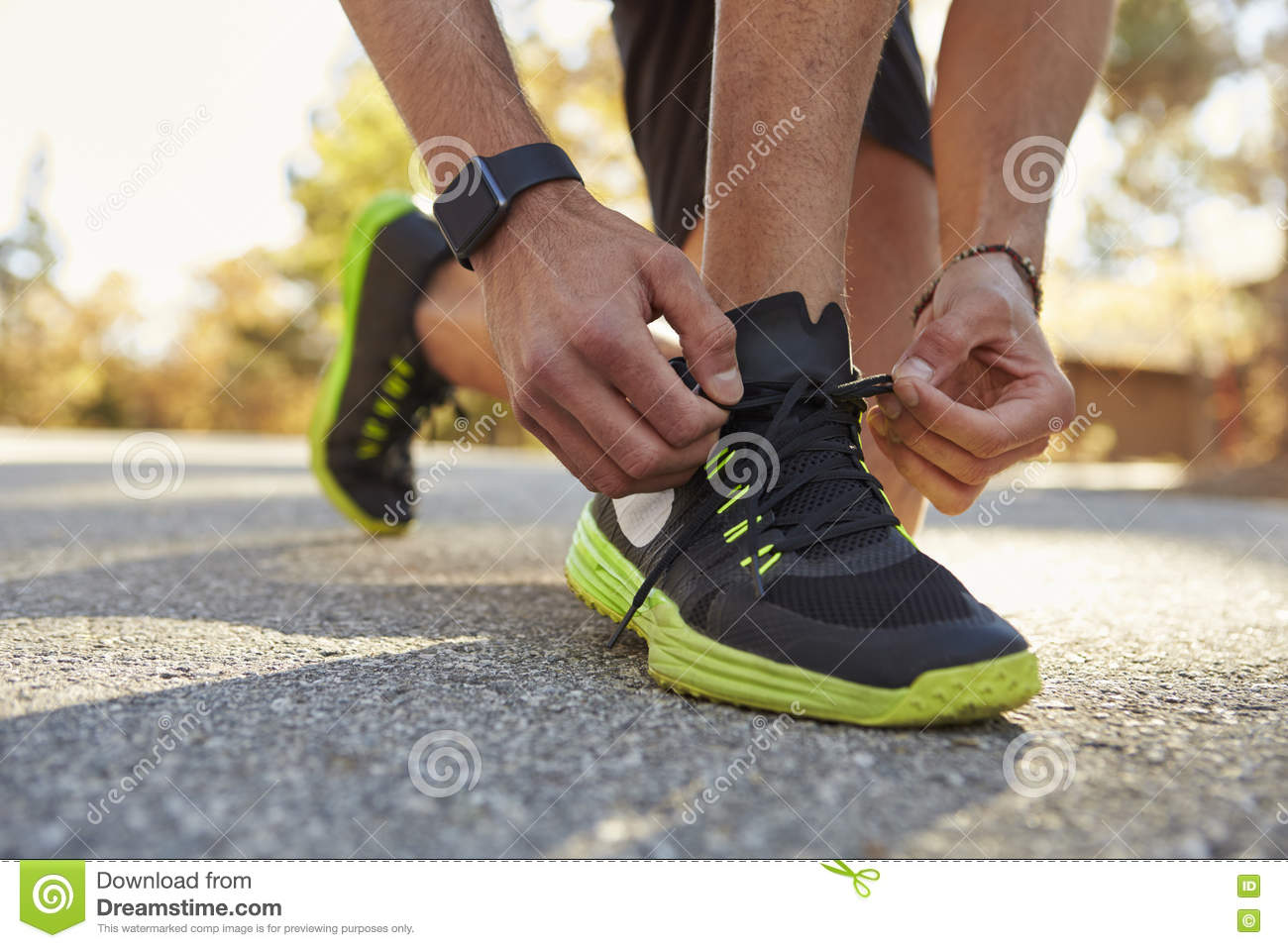 Squatting In Running Shoes
