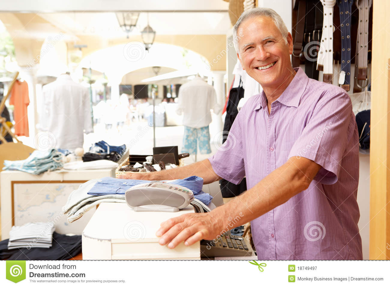 s stock photos images pictures 164 234 images male s assistant at checkout of clothing store royalty stock photography