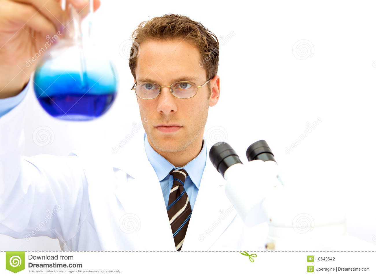 male scientist working in a lab stock photo image of male beaker