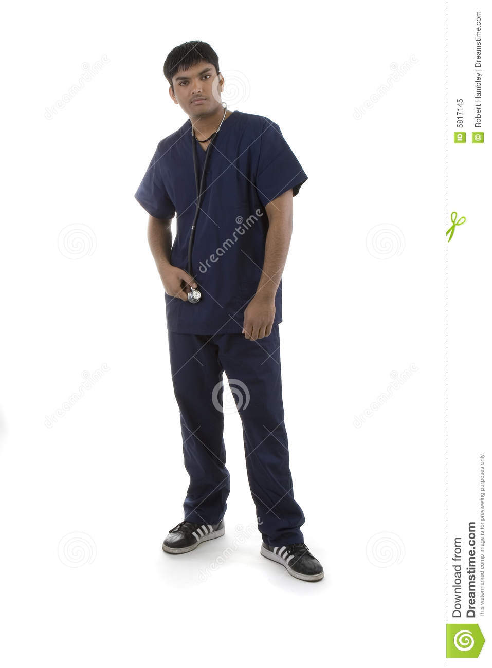 Male in Scrubs
