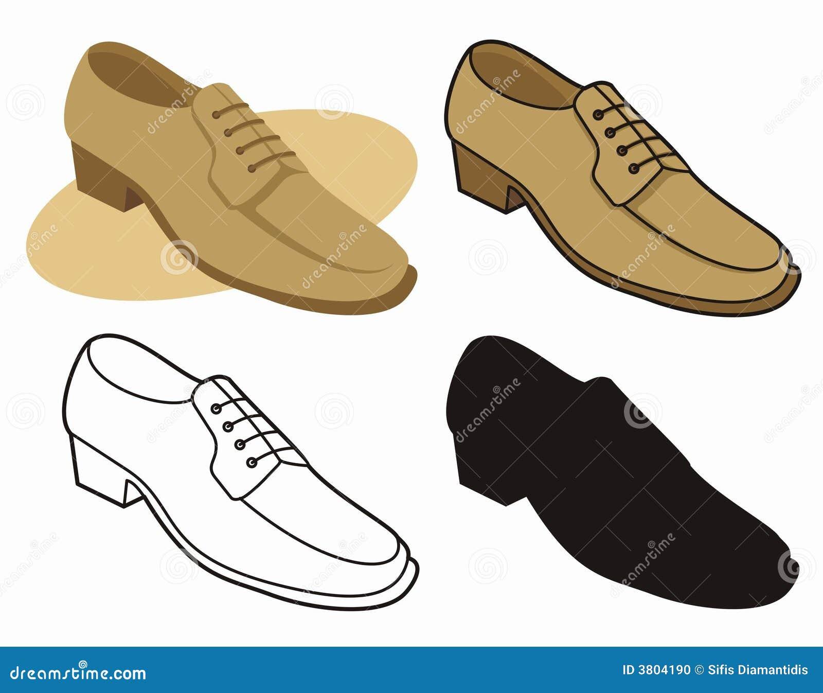 Male shoe 1