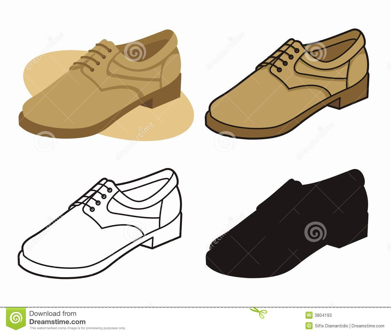 Men Shoes Clip Art Male shoe 4