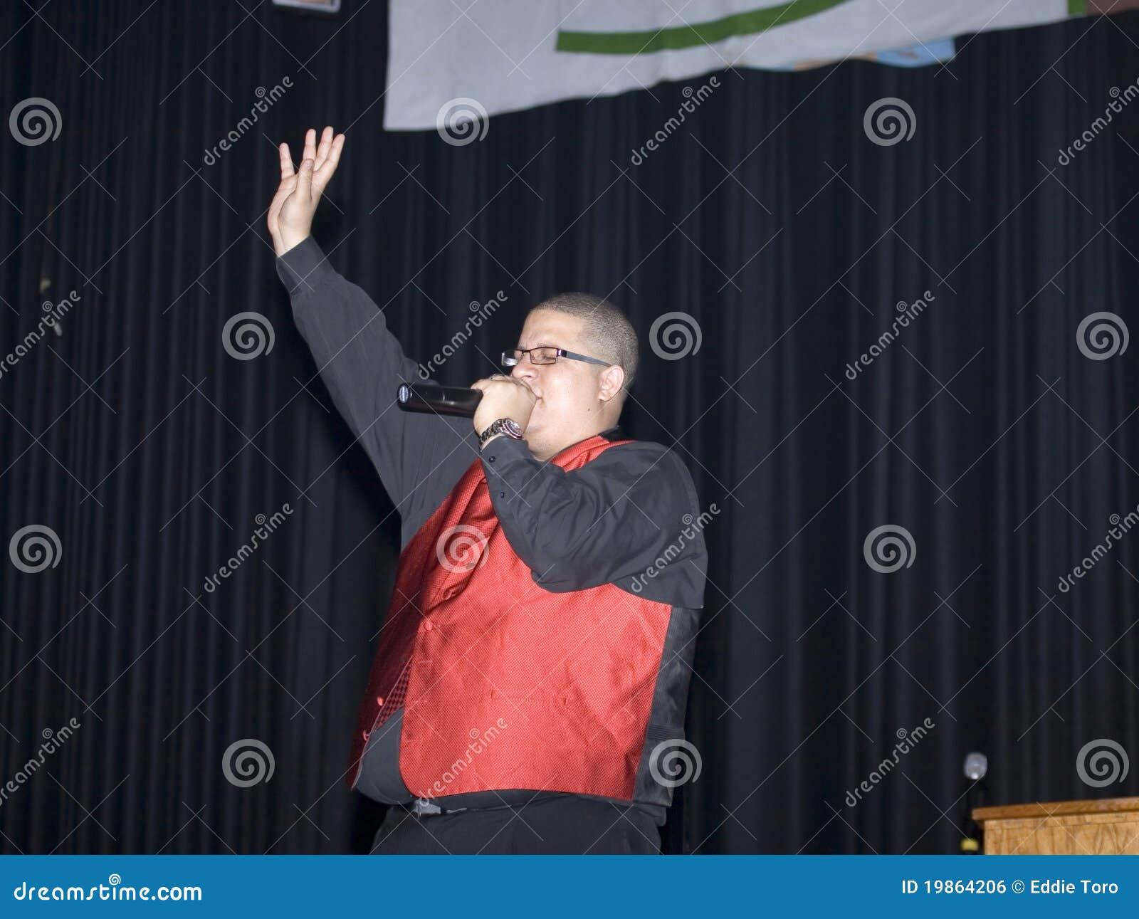 Male singing editorial photo  Image of singing, worship