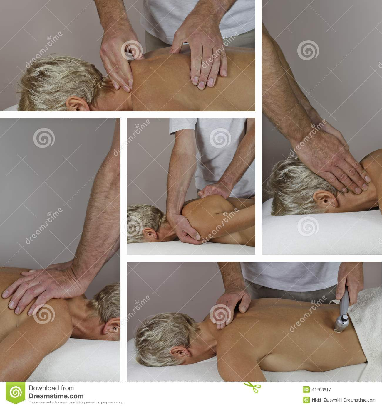 the mature male masseur
