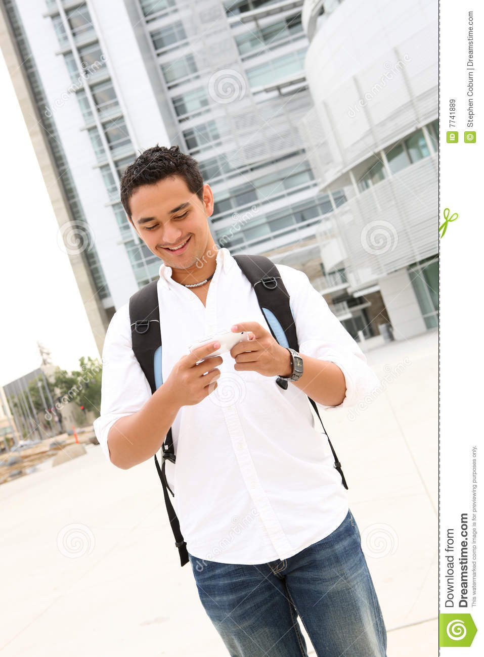 College students and text messaging