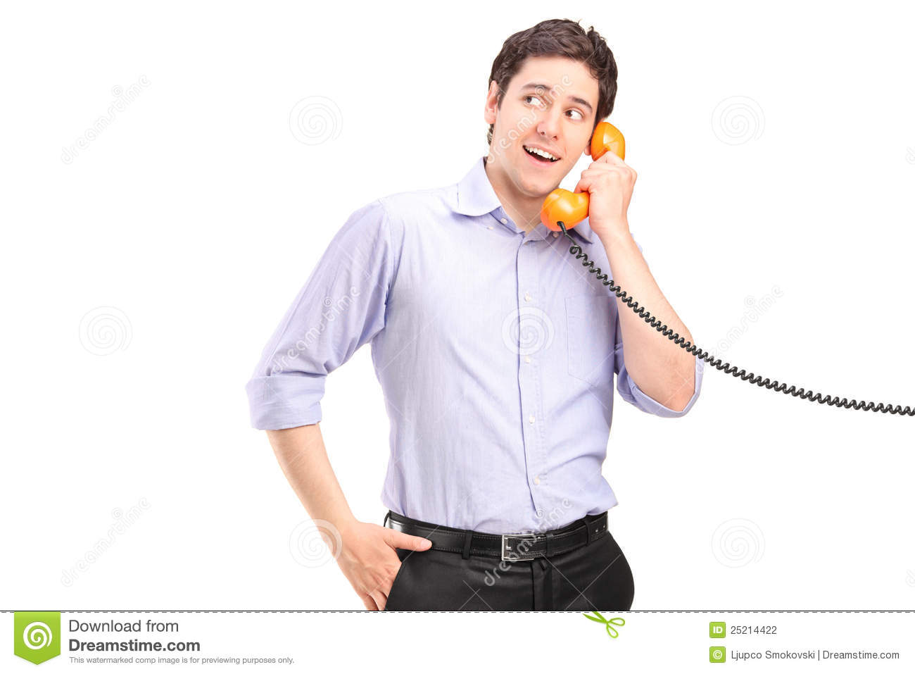 a male talking on a telephone stock photography image no talking please clipart no talking clipart free