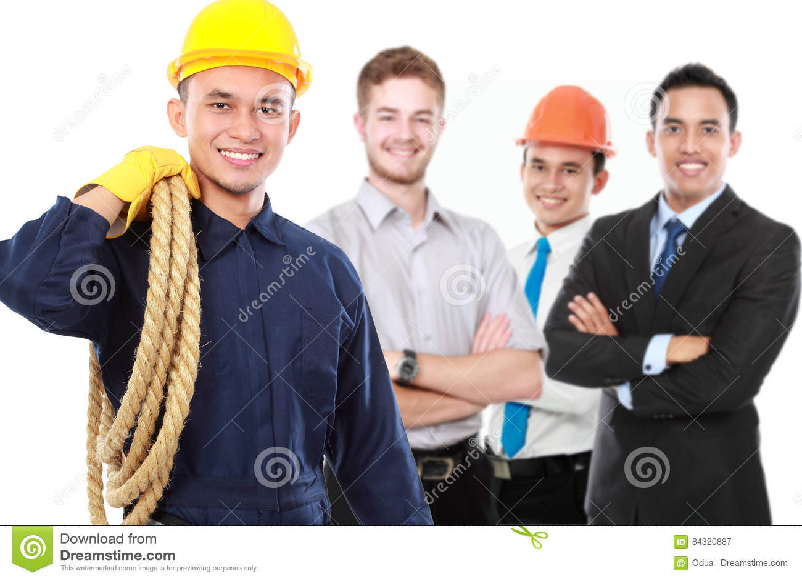 Male technician or engineer