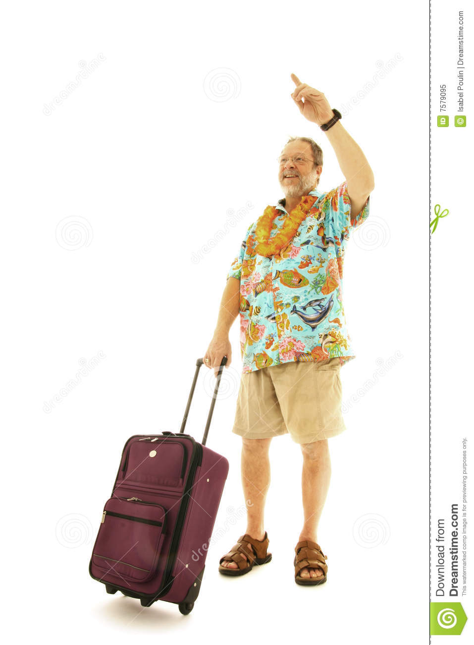 Male Traveller Hailing A Taxi Stock Image Image 7579095
