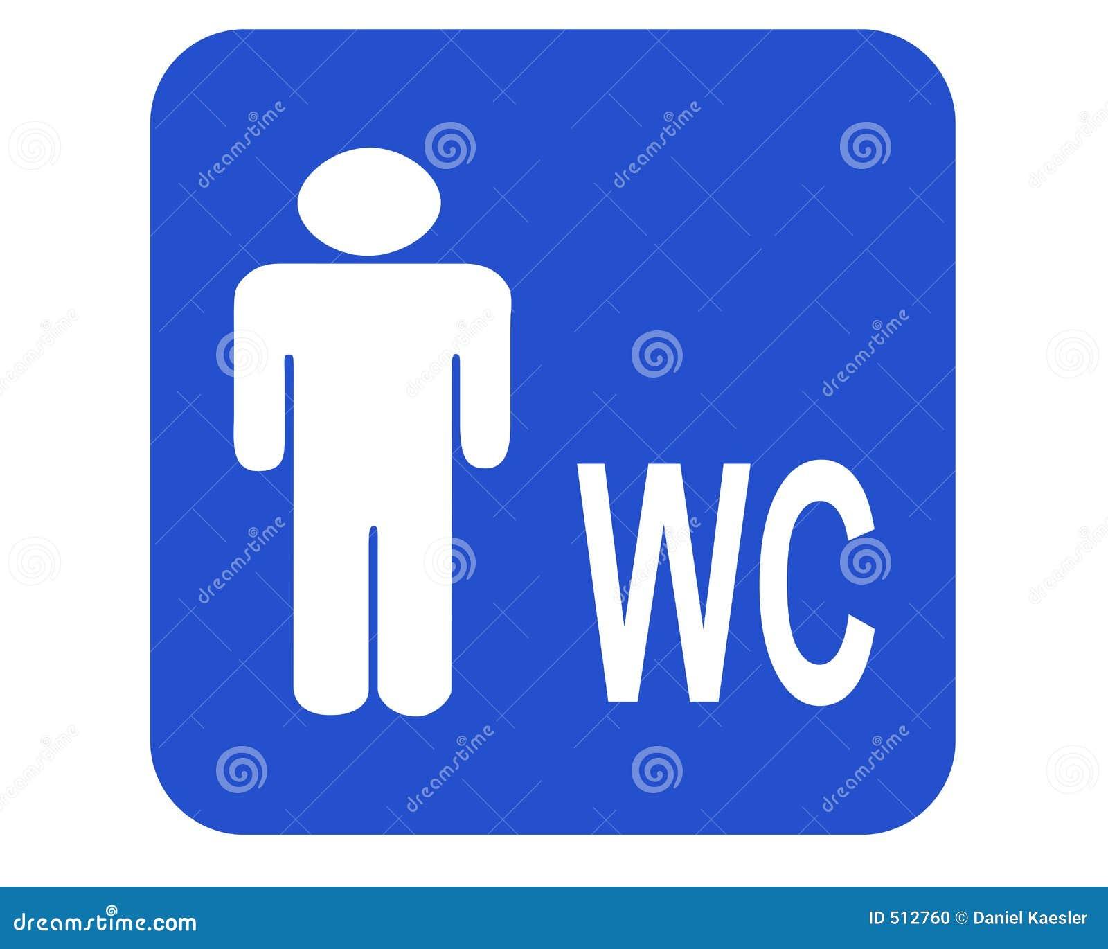 Male Wc Stock Photo Image 512760