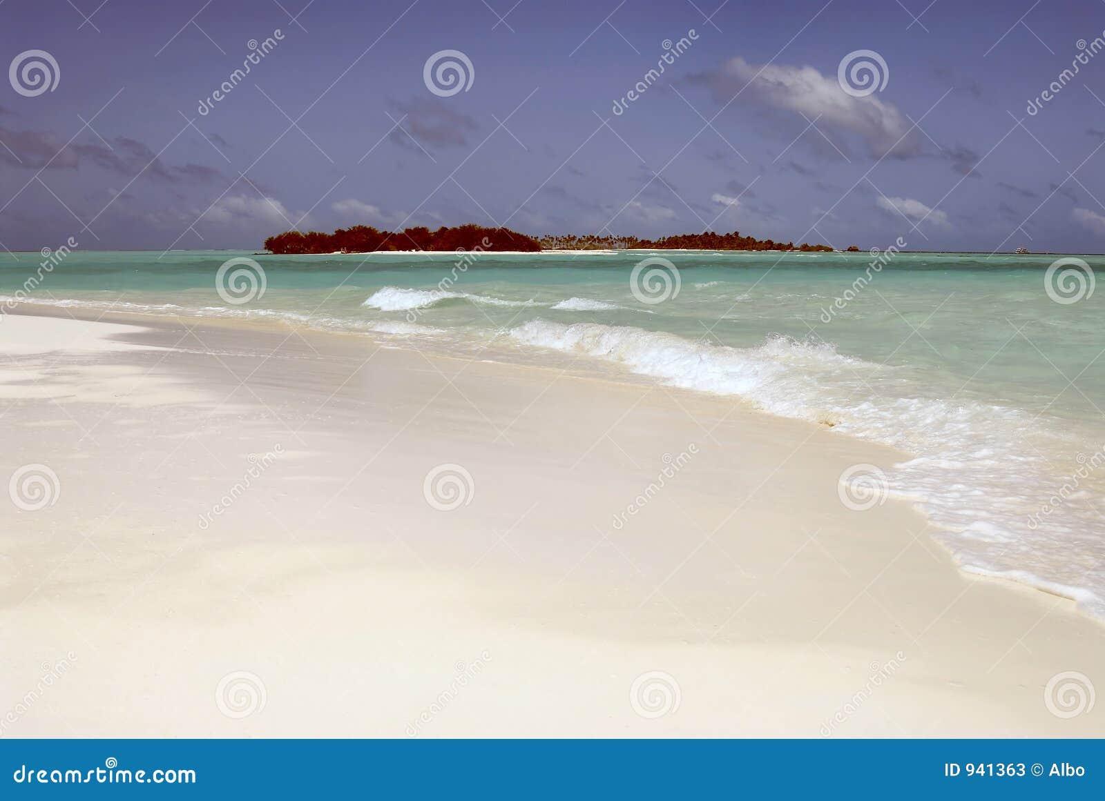 Maledivische Insel
