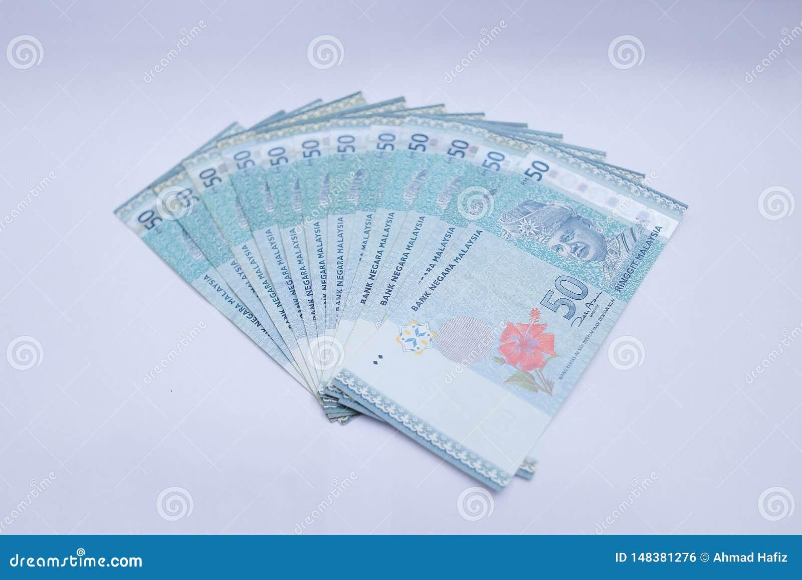 50 Maleise ringgit geldnota s