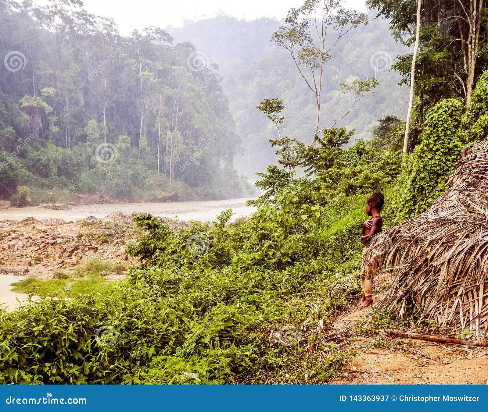 Maleisië - Jongen in Taman Negara