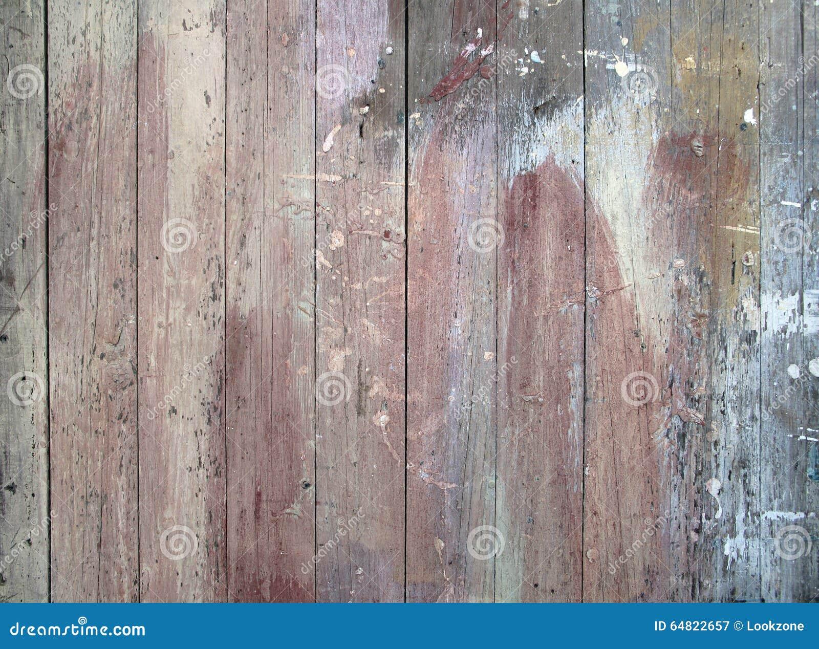 Malen Sie Beflecktes Altes Holz Stockbild Bild Von Zaun Akzent