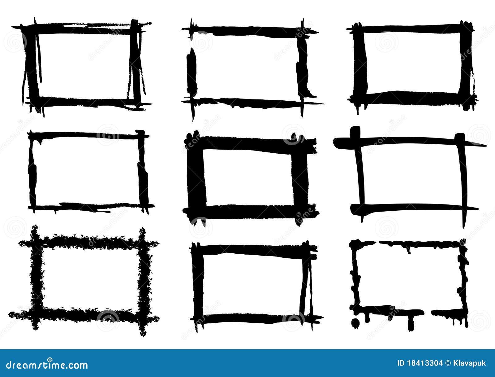 Malen Sie Felder vektor abbildung. Illustration von skizze - 18413304