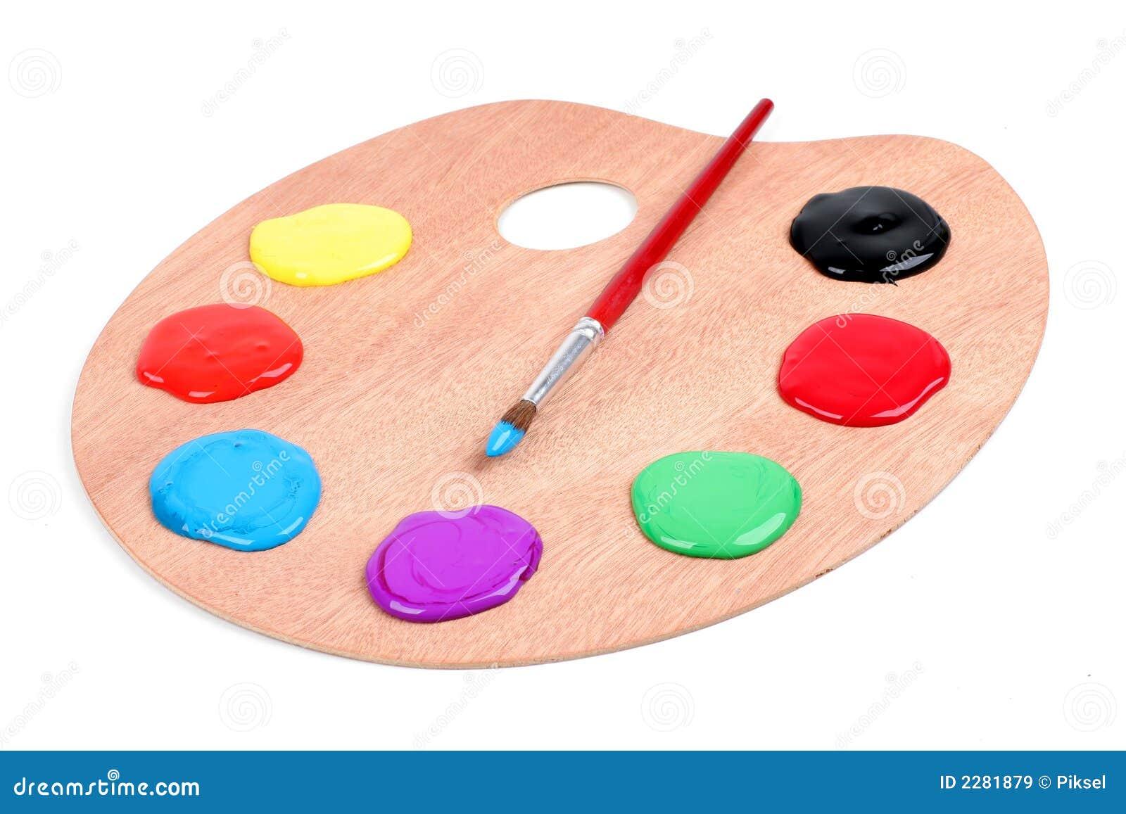 Malen Sie Palette