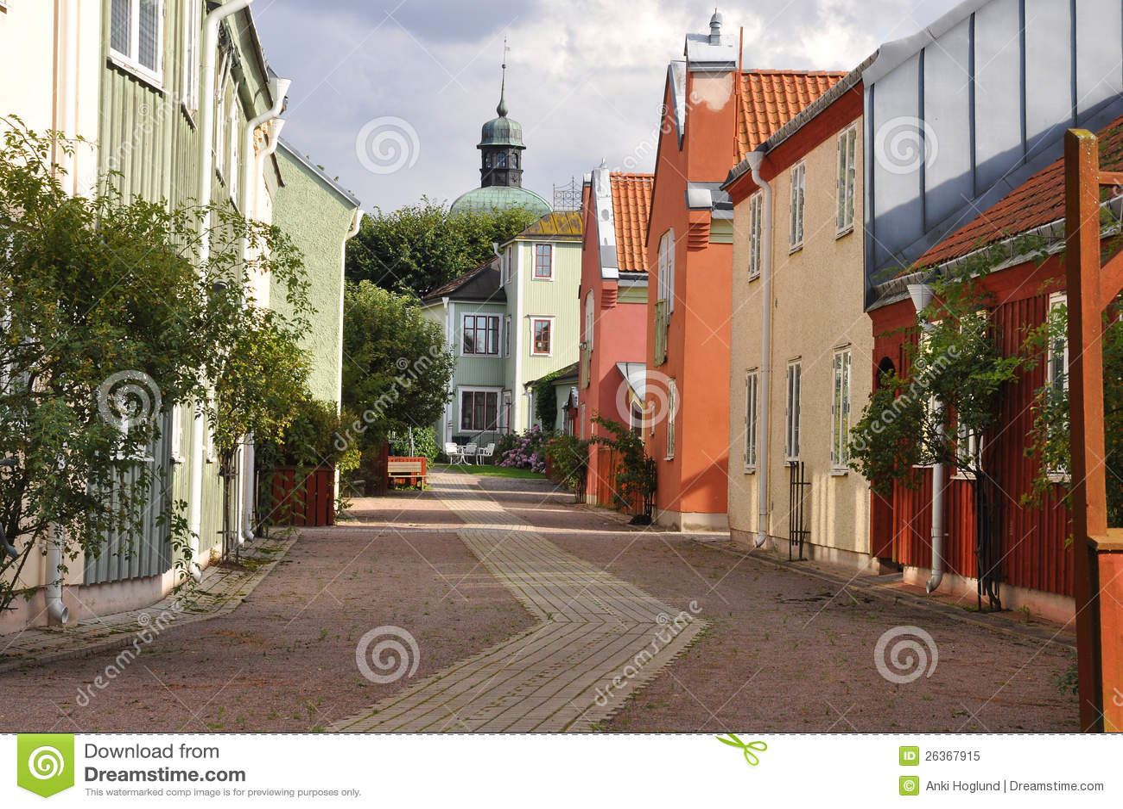 Malerische medival Stadt