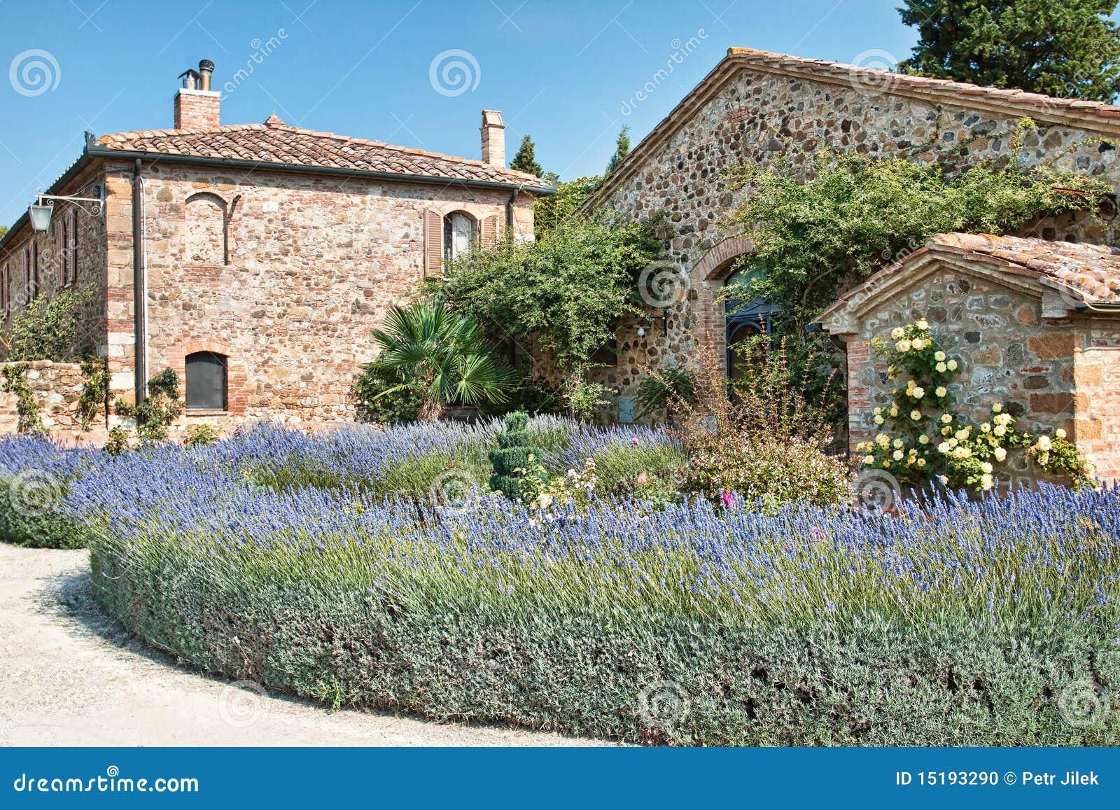 Malerischer Winkel von Toskana