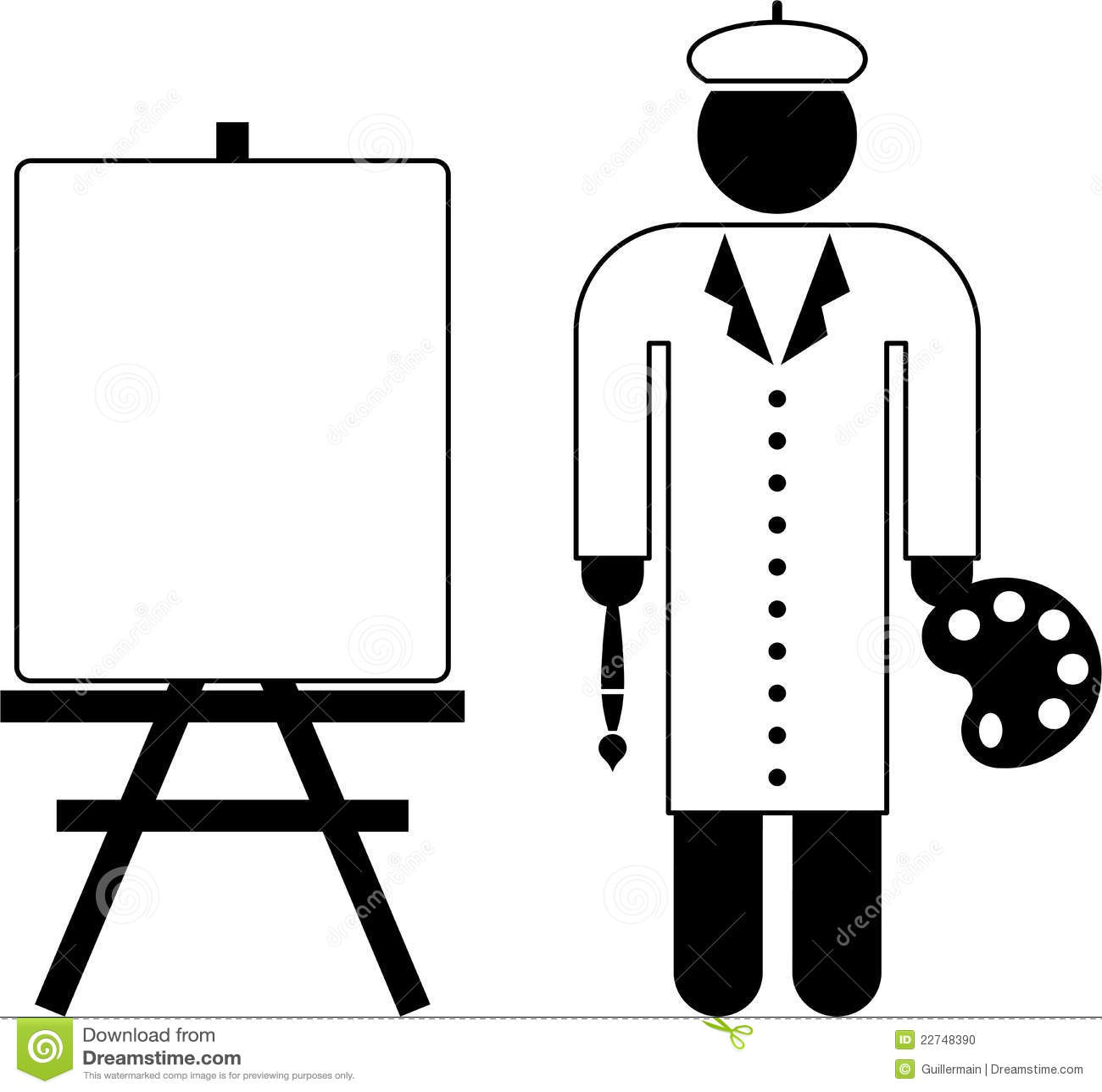 Malerpiktogramm
