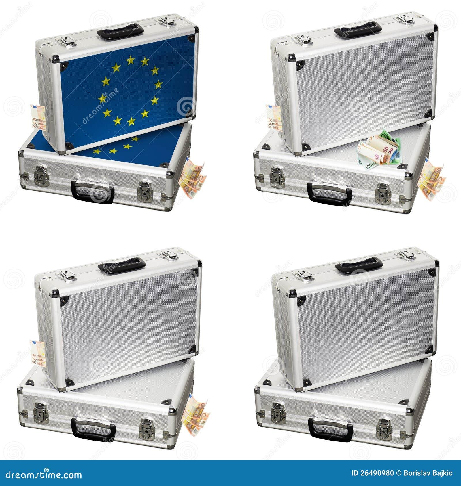 efectivo euro pecho