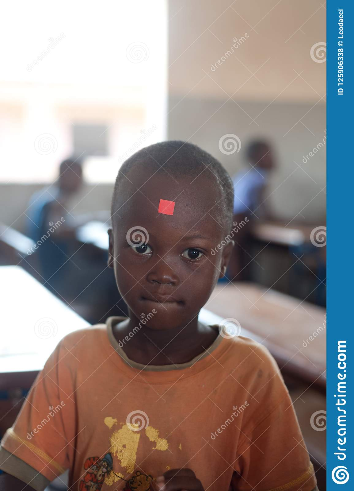Mali Closeup Portrait Of A Male Black Student Editorial Stock Photo Image Of Countries Junior 125906338