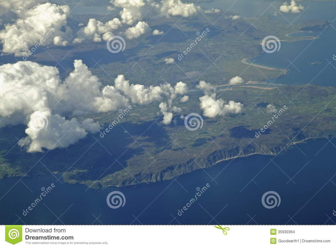 Malin 39 S Head In Northern Ireland Stock Images Image
