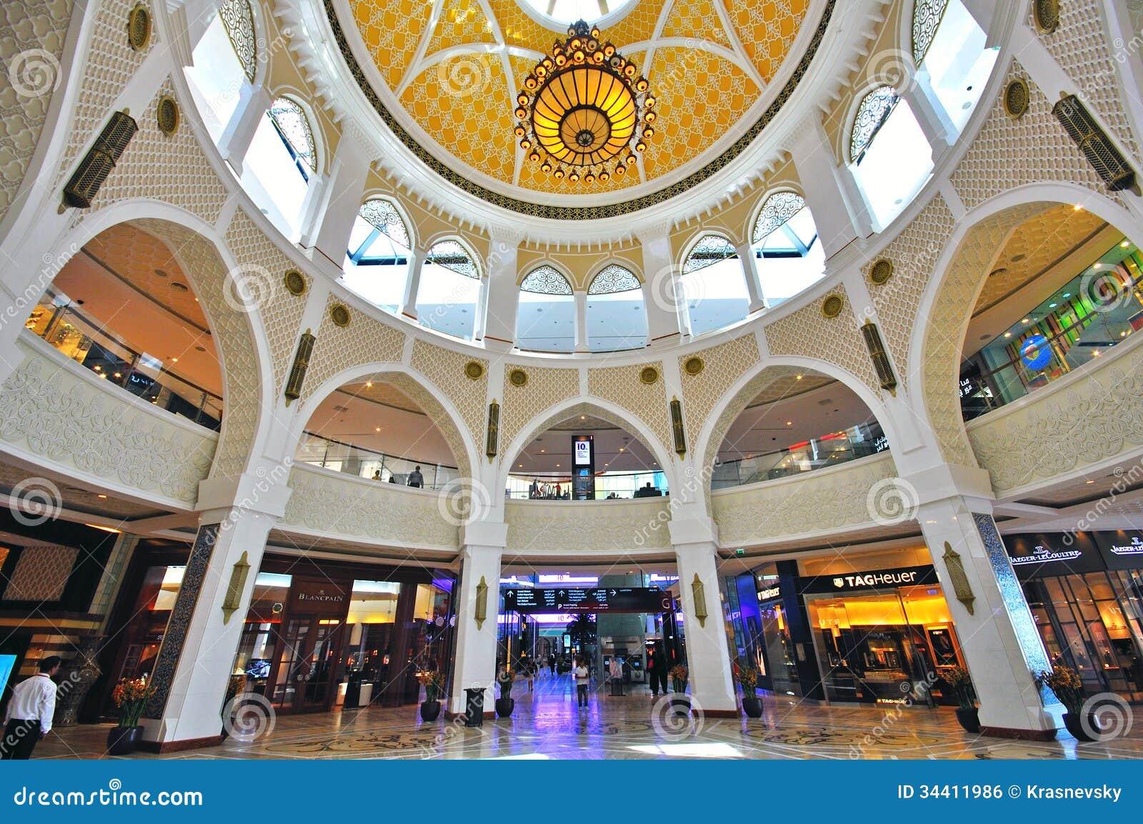 mall of dubai editorial photo image 34411986. Black Bedroom Furniture Sets. Home Design Ideas