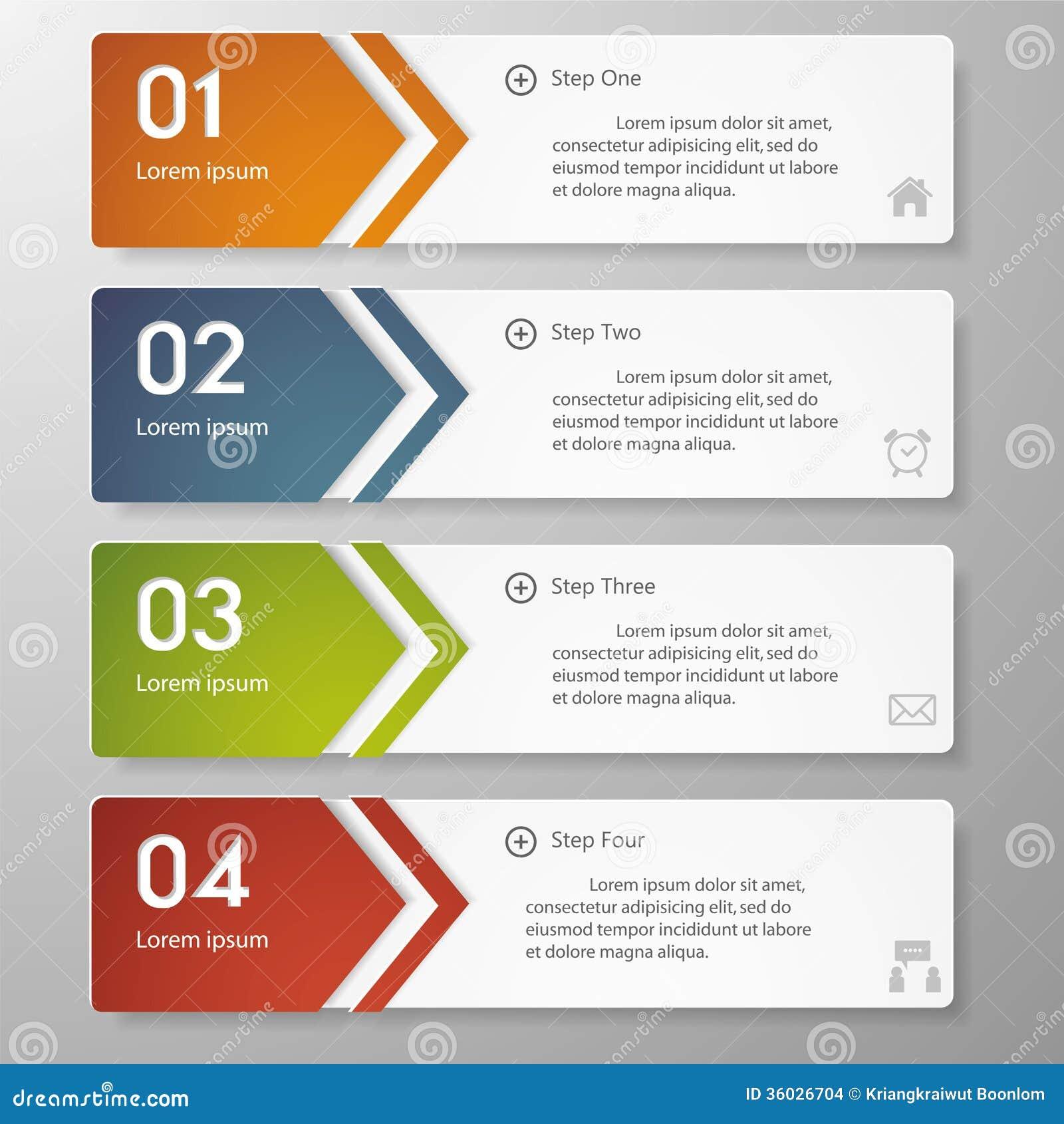 Mall för baner för designrengöringnummer