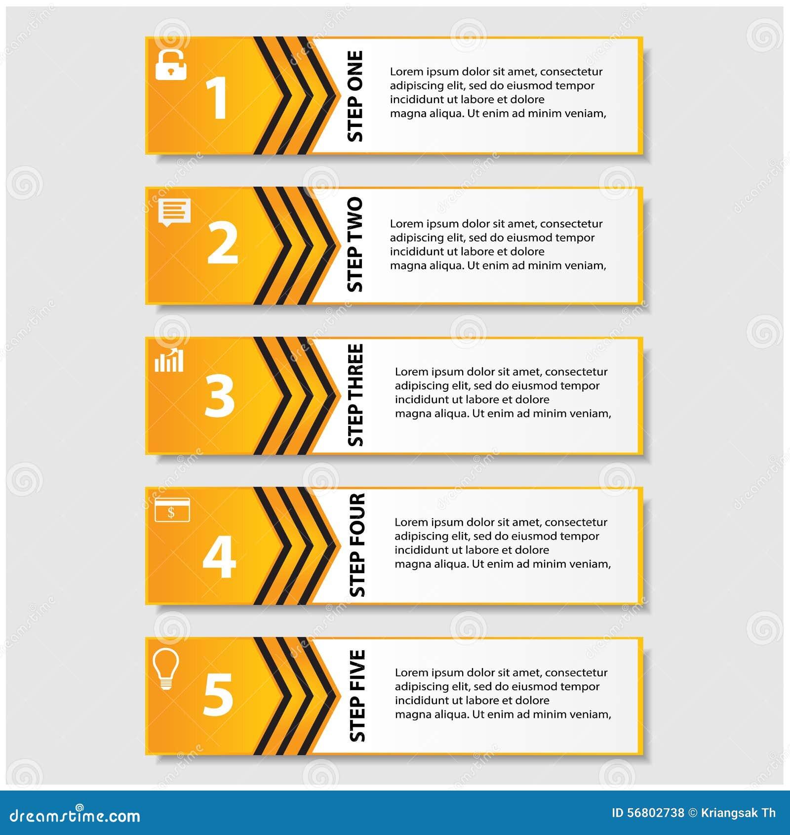 Mall för baner för designrengöringnummer/diagram- eller websiteorientering