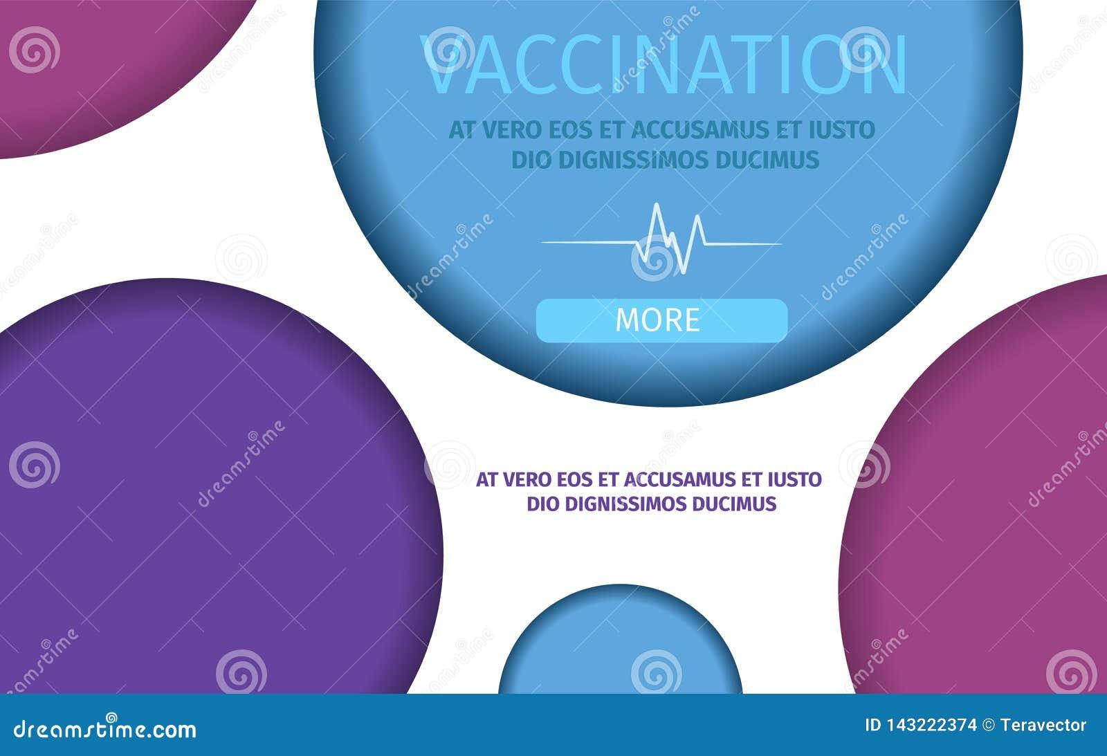 Mall för vaccineringsjukvårdimmunisering