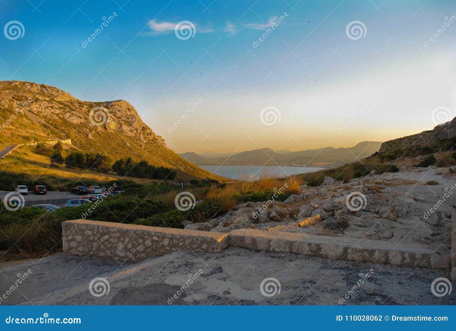 Mallorcanzonsondergang