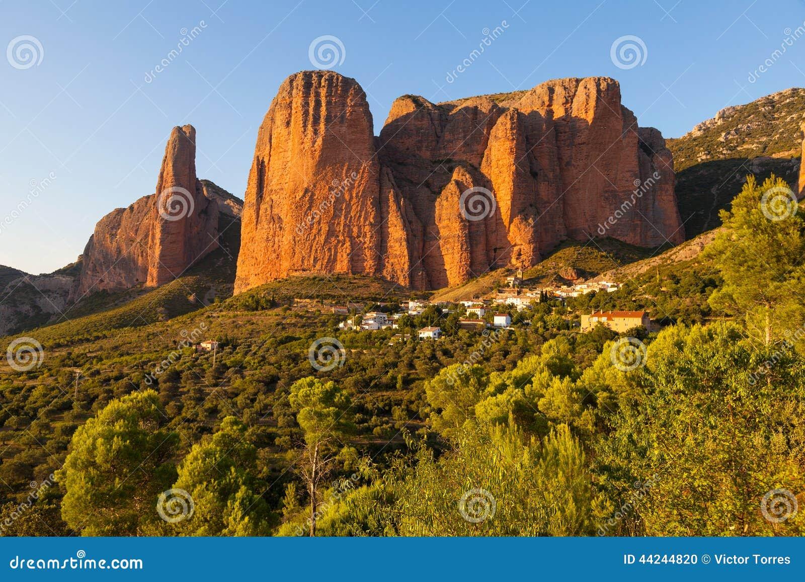Mallos de Riglos à Huesca, Aragon