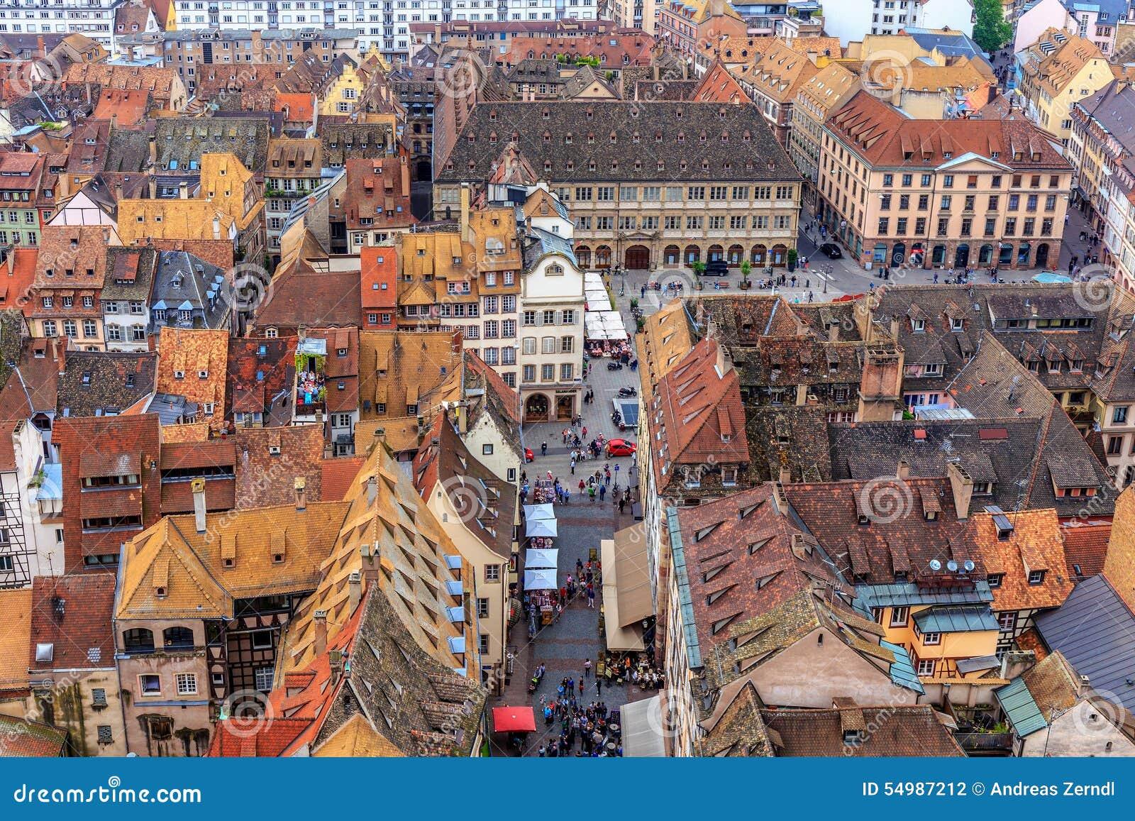 Malowniczy Strasburg