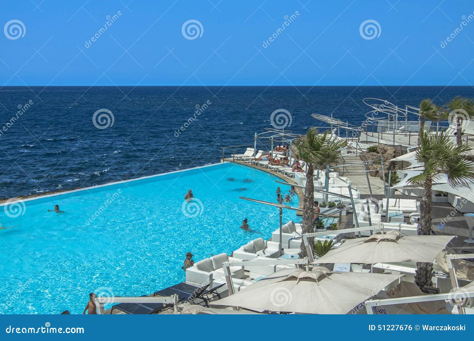 Malta coastline view editorial photo image 51227676 for Pool design malta