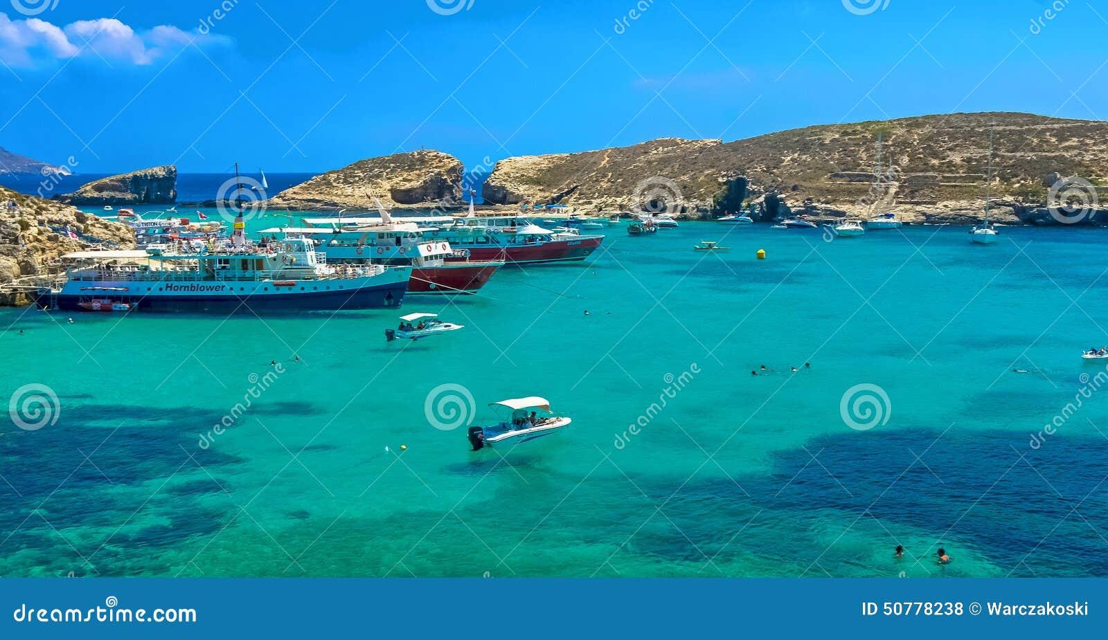 Malta, Comino, blaue Lagune