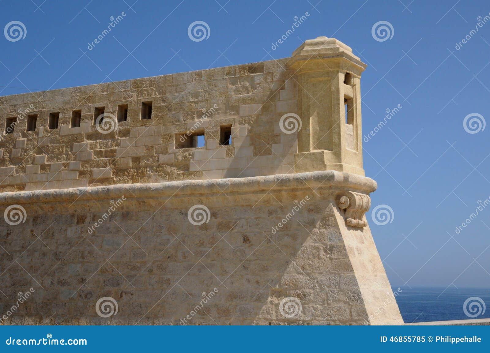 Malta den pittoreska staden av Valletta